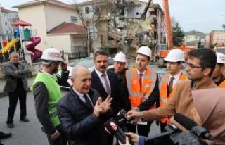 Başkan Akgün: Büyükşehir meclisi önümüzü...