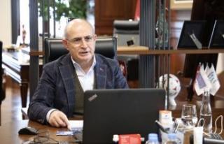 Başkan Akgün: Koronavirüsle mücadelede destek...