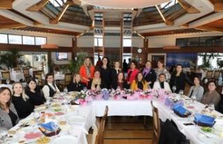 Büyükçekmece Belediyesi'nin kadın yöneticileri...