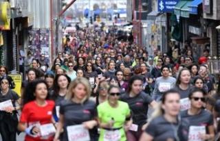 Güçlü kadınlar İstanbul'da
