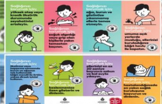 İstanbul Büyükşehir Belediyesi, koronavirüs için...