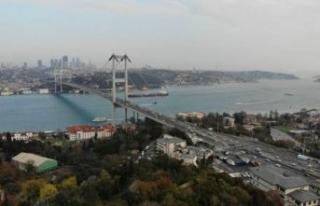 İstanbul'da trafik yüzde 13'e kadar düştü