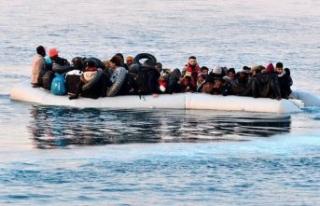 Midilli açıklarında göçmen botu battı, bir çocuk...