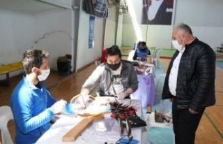 Çatalca'da Sağlık Çalışanlarına Destek için...
