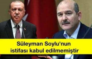 Son Dakika: İletişim Başkanlığı: Süleyman Soylu'nun...