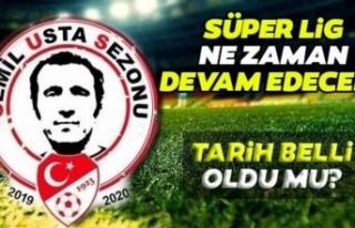 Süper Lig ne zaman başlayacak? Tarih verildi!