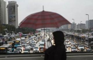 Meteoroloji'den İstanbullulara sağanak yağış...