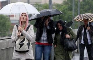 Meteoroloji'den kuvvetli sağanak yağış uyarısı!...