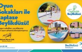 BEYLİKDÜZÜ'NDE OYUN SOKAKLARI PROJESİ HAYATA...