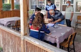 Çatalca Belediyesi Zabıta Ekipleri Salgınla Mücadele...