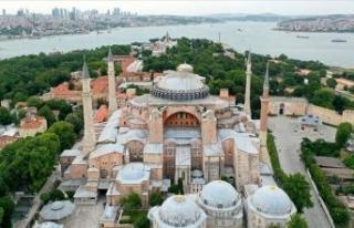 Türkiye'den UNESCO'ya madde madde Ayasofya...