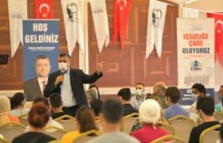 Başkan Bozkurt:Hedefimiz çalışmak isteyen herkese...