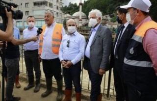 CHP'li başkanlar Giresun için seferber oldu