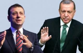 İmamoğlu'ndan Cumhurbaşkanı Erdoğan'a...
