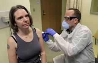 Koronavirüs aşısının ilk deneği, aşının etkilerini...