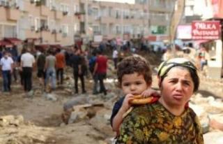 Selin vurduğu Giresun'da, kayıp 9 kişi aranıyor