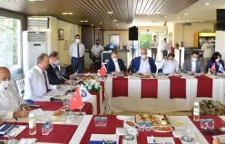 Başkan Hançerli, CHP'li belediye başkanlarını...