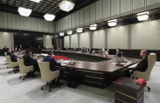 Erdoğan başkanlığında kritik kabine toplantısı:...