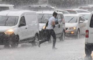 AKOM'dan İstanbullulara sağanak uyarısı