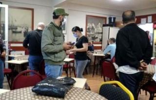 Avcılar'da kahvehanede oyun oynayan 24 kişiye...