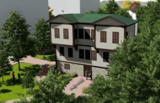 Büyükçekmece Atatürk Evi ve Müzesi'nin temeli...