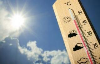 Yazdan kalma hafta sonu... Sıcaklıklar mevsim normallerinin...