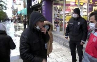 Avcılar'da maske ve sigara denetimi