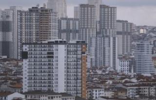 İstanbul'da sıfır konut satışları düştü