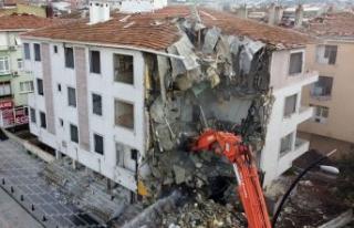 İzmir depreminin ardından Büyükçekmece'de...