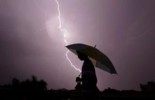 Meteoroloji'den kuvvetli yağış, rüzgar ve...