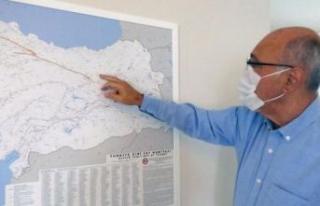 Prof. Dr. Bektaş, Karadeniz'deki 'gizli fay'...