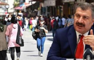 Bakan Koca; İstanbul'da vaka sayasında önemli...