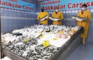 Beylikdüzü Balıkçılar Çarşısı'na kavuştu