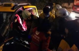 Beylikdüzü'nde trafik kazası: 2 yaralı