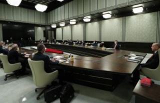 Kabine yeniden toplanıyor: Gündem yılbaşı