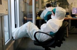Kasım ayında 63 sağlık çalışanı koronavirüs...