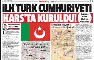 Mehmet Mert - İlk Türk cumhuriyeti Kars'ta...