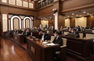 Büyükçekmece Belediyesi 2021 yılının ilk meclis...