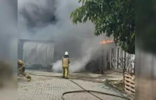 Büyükçekmece'de gecekondu yangını: 1 kadın...