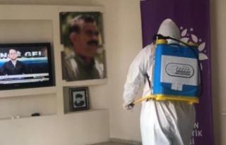 HDP Esenyurt ilçe binasındaki operasyon çerçevesinde...