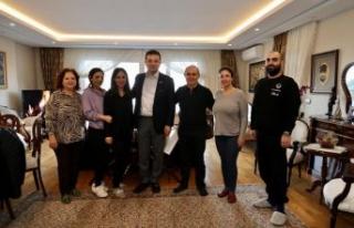 İBB Başkanı Ekrem İmamoğlu'ndan Başkan Akgün'e...