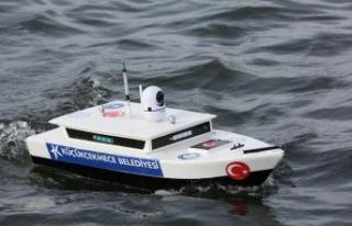 İSKA test sürüşleri Küçükçekmece Gölü'nde...