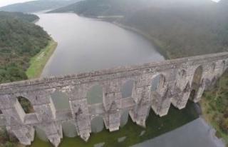 İstanbul'da baraj doluluk oranlarında son durum...