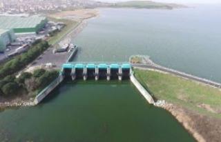 İstanbul'da barajlarda doluluk oranı arttı