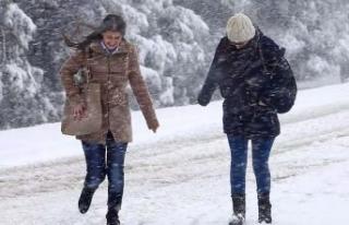 İstanbul'da çarşamba ve perşembe günü kar...