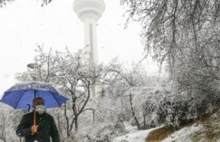 İstanbul'da kar yağışı akşam saatlerinde etkili...