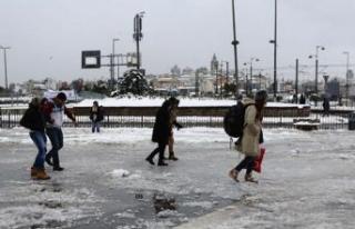 Meteoroloji'den İstanbul dahil için 30 il için...