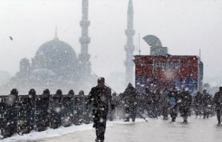 Meteoroloji: İstanbul'a çarşamba günü kar...