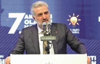 '20 yılda AK Parti İstanbul İl Başkanlığı...