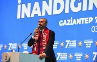 Adalet Bakanı Abdülhamit Gül'den gençlere...